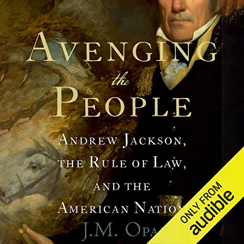 Avenging the People audiobook cover art