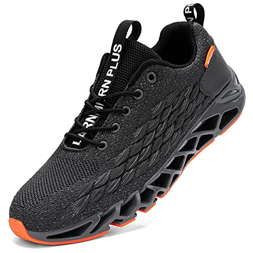 LARNMERN Zapatillas de Deporte Hombres Ligero Transpirable Running Zapatos para Correr Gimnasio...