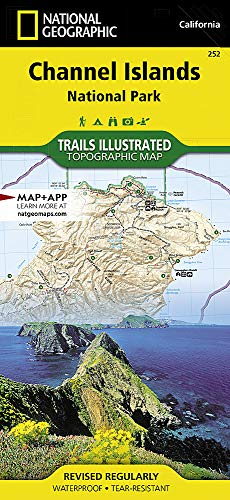 Channel Island National Park: National Geographic Trails Illustrated Californien (National Geographic Trails Illustrated Map, Band 252)
