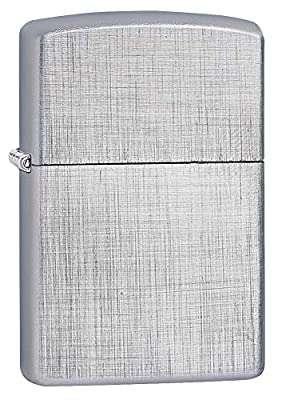 Zippo Linen Weave Pocket Lighter