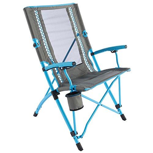 Coleman Bungee Chair Faltstuhl, blau, One Size