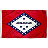 Sports Flags Pennants Company State of Arkansas Flag 3x5 Foot Banner
