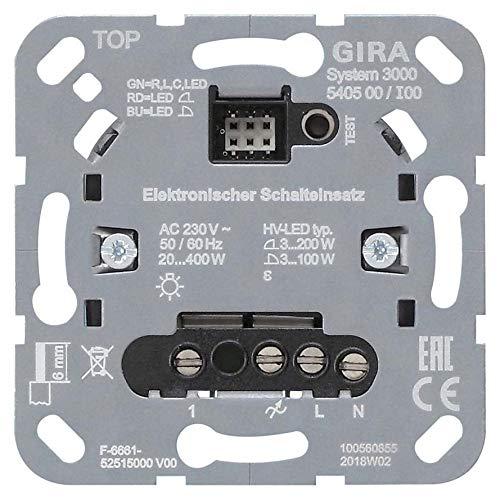 Gira Schalteinsatz 540500 Designneutral Elektronischer Schalter 4010337048299