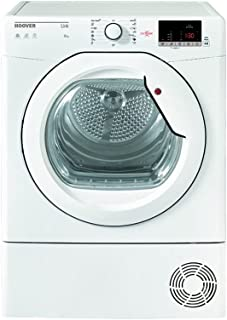 Hoover HLC8DG-S Front Loading Tumble Dryer With Condenser System, White