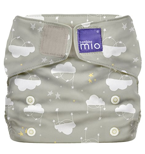 Bambino Mio, miosolo all-in-one wiederverwendbare windel, wolke sieben