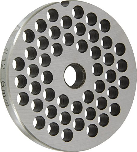 Reber en 4312/6 - Malla de Reber picadora de carne n ° 12, los agujeros de 6 mm de diámetro, de acero inoxidable