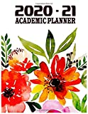 Quill daily planners 2020-2021 Academic Year Vision Planner (July 2020 - June 2021): Monthly/Weekly Agenda Calendar Organizer ( Includes Goal & Password Log Sheets)