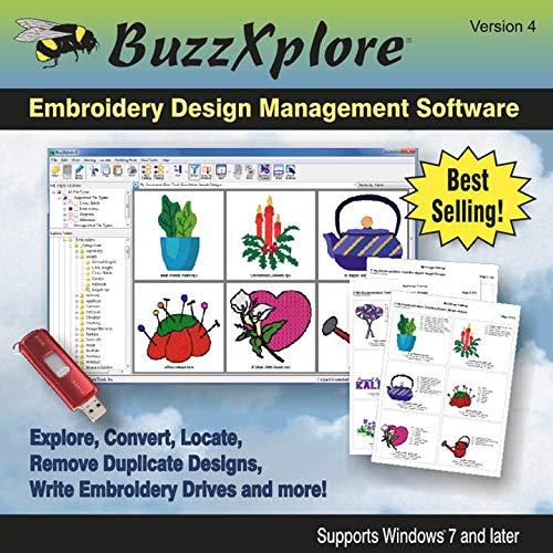 BuzzXplore 4 Embroidery Design Management Software