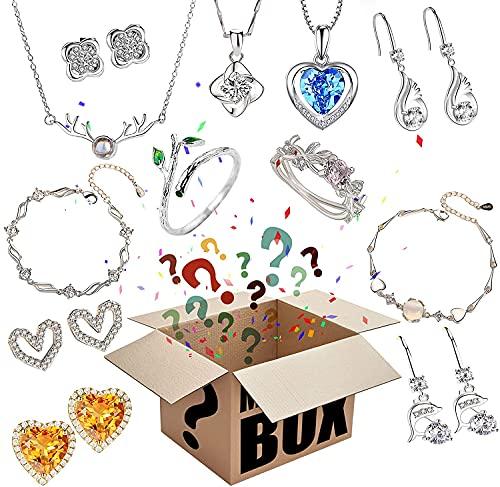 Mystery Box Lucky Box Mystery Boxes Scatola portagiochi per giocattoli , super conveniente, qualità-prezzo, primo , primo servito, regalati una sorpresa o come regalo per un , battito cardiaco! (B)