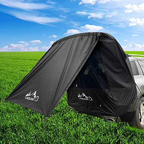 Car Outdoor Camping Family Car Tail Account Car Side Account Tents Tailgate Canopy For Car, Suv, Summer Camping Tent Shade Tent Waterproof Auto Canopy Camper Trailer Tent Tailgate Awning Tent
