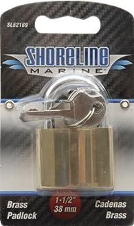 Shoreline Marine 1-1//2 Outboard Motor Lock