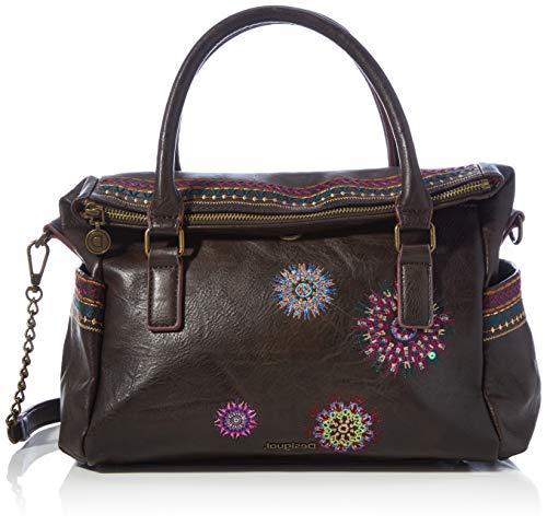 Desigual Accessories PU Hand Bag, Mano Mujer, marrón, U