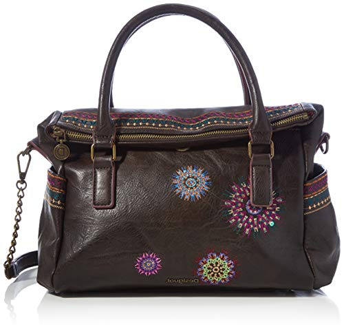 Desigual Womens Accessories PU HAND BAG, Brown, U