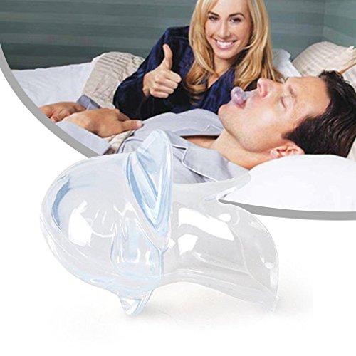 Anti Schnarchen Mundstücke Gerät - Thermoformbare Oral-Orthese - Wirksam gegen Schnarchen und Bruxismus (Schleifen der Zähne) für einen angenehmen Schlaf