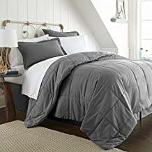 Simply Soft Bed In A Bag, California King, Gray