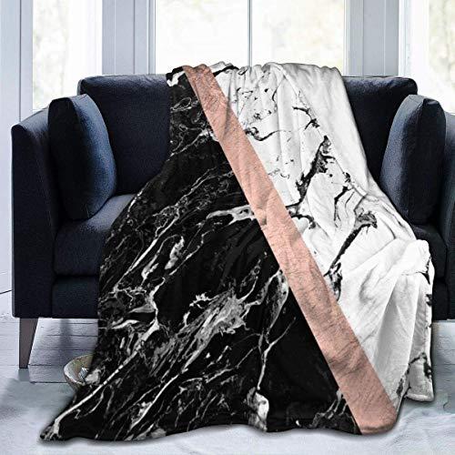Manta de franela para marinero, luna y gatitos, supersuave, de felpa, 127 x 152 cm