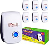 6. Ultrasonic Pest Repeller 6 Pack ,Electronic Plug in Indoor Pest Repellent,Pest Control for Home,Office,Warehouse,Hotel