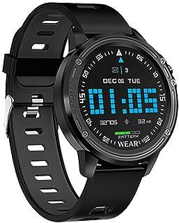 Rastreador de Ejercicios, Reloj Pulsómetro Presión sanguínea Monitor de Sueño Podómetro IP68 Impermeable Pronóstico del Tiempo Fitness Tracker SMS Push para iOS Android Phone