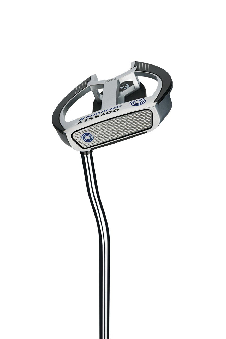 Product Image 2: Odyssey Golf Men's Lined Versa with Superstroke Grip Works 2-Ball Fang Putter