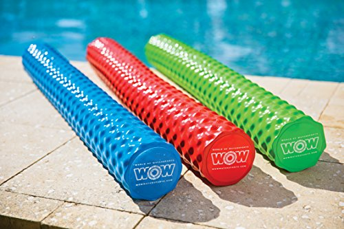 WOW World of Watersports 17-2060B First Class Soft Dipped Foam Pool Noodle, Blue