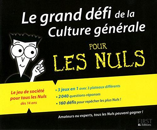 Le grand défi de la Culture générale pour les Nuls