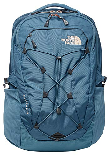 The North Face Women's Borealis Backpack, Mallard Blue/Rose Gold, One Size