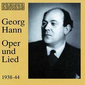 Georg Hann - Oper und Lied