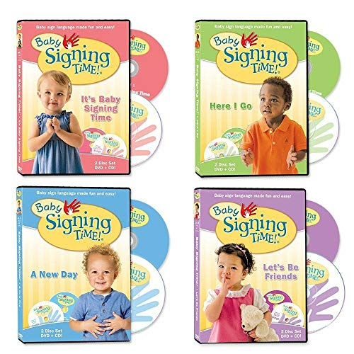 Baby Signing Time DVD and CD Collection