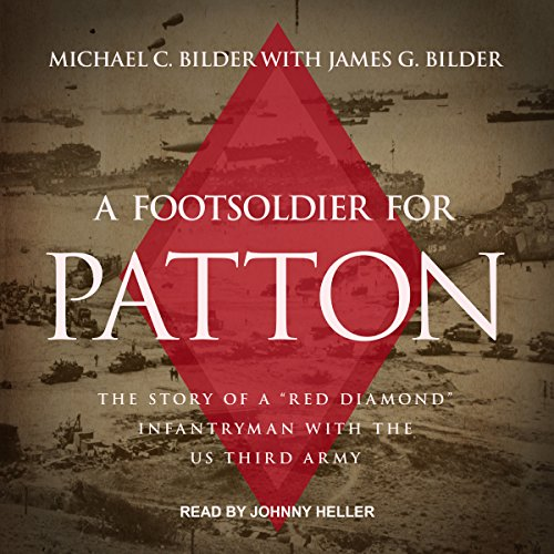 A Foot Soldier for Patton audiobook cover art