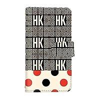 スマQ Pixel 4a 5G 4a 5G 国内生産 ミラー スマホケース 手帳型 Google グーグル ピクセル フォーエーファイブジー 【A-レッド】 葛飾北斎 ドット HK パターン ami_hokusai-003-camel