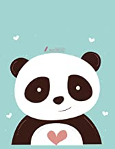 Sketch book: Cute panda  cover (8.5 x 11)  inches 110 pages, Blank Unlined Paper for Sketching, Drawing , Whiting , Journaling & Doodling (Cute panda ... (8.5 x 11) inches, 110 pages) (Volume 8)