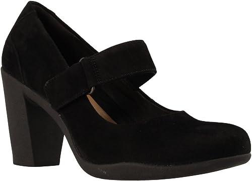 Clarks Chaussures 26128433 Adya Adya Clara Noir  haute qualité et expédition rapide