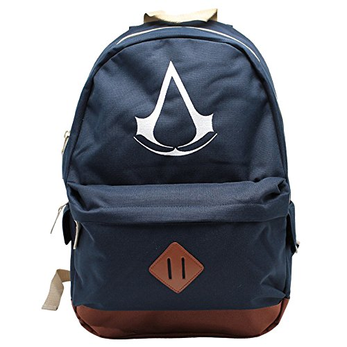 ABYstyle - ASSASSIN'S CREED - Rucksack - Crest - Blu (45x31x19 cm)