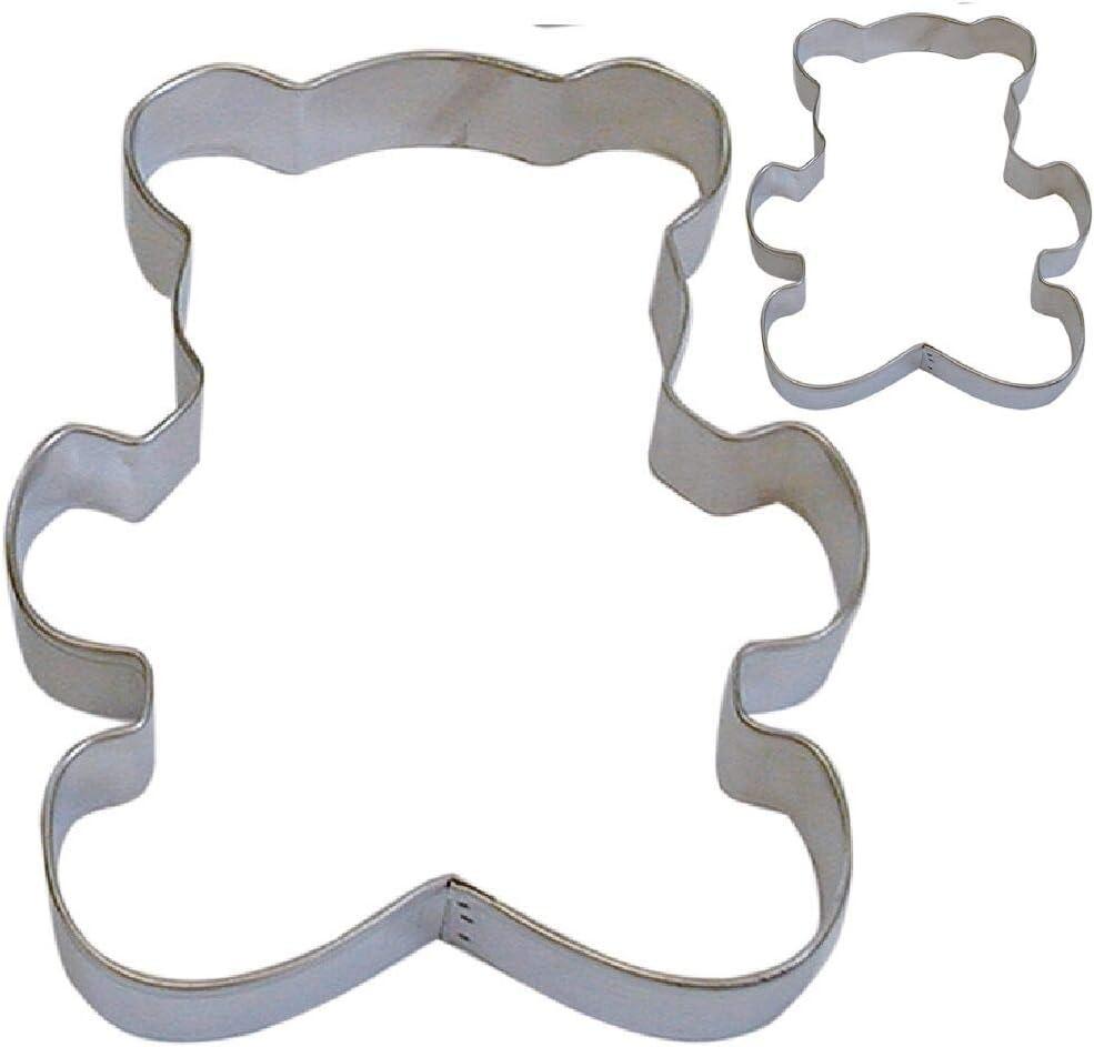 2 Piece Teddy bear Cookie NEW Cutter price Attention brand VergentaStore Set
