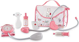 """Corolle - Large Doctor Set - 7 Piece Accessory Set for Baby Dolls, Designed for 14'' and 17"""" Dolls"""