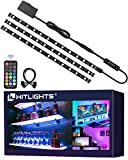 HitLights LED Strip Lights 3 Pre-Cut 12Inch/36Inch LED Light Strip Flexible Color Changing 5050 LED...