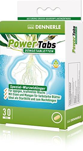 Dennerle 4477 Power Tabs Spezial-Wurzeldünger 30 Stück für Aquarienpflanzen
