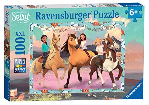 Ravensburger Kinderpuzzle 10748 - Lucky und ihre Freundinnen - 100 Teile