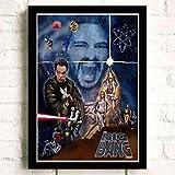 WDQFANGYI The Big Bang Theory Tv Filmqualität Poster Und