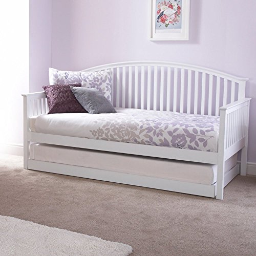 GFW Madrid Day Bed Trundle (White)