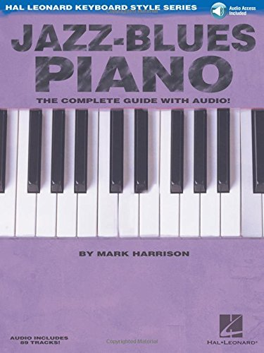 Jazz-Blues Piano Pf Book: The Complete Guide with Audio! (Hal Leonard Keyboard Style)