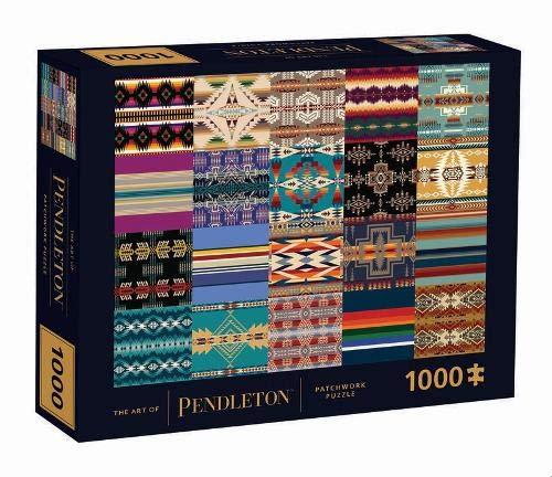 The Art of Pendleton Patchwork 1000-piece Puzzle