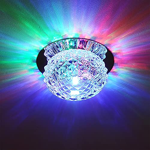 Moderne Kristall LED Kristallleuchter, Style home Deckenleuchten Crystal Lüster, Kristall Deckenleuchte für Flur, Wohnzimmer, Schlafzimmer, Esszimmer, Hotel [Energieklasse A++] …