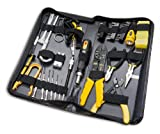 58 Piece Tool Kit for Handyman, Computer Technician, and Electrician