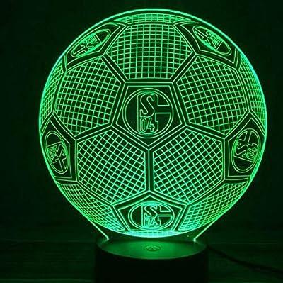 Luz de la noche 3 luces fantasmas de color luz de noche de fútbol ...