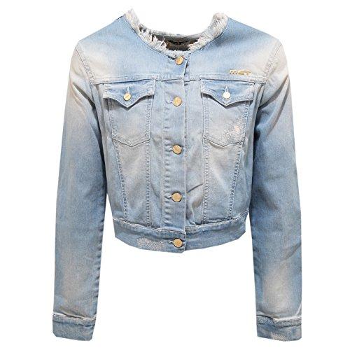 0944T giacca jeans bimba MET BENTLEY denim jacket kid