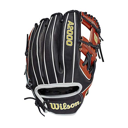 Wilson Sporting Goods Men's 2021 A2000 1975, Black/Copper-Standard Glove, L