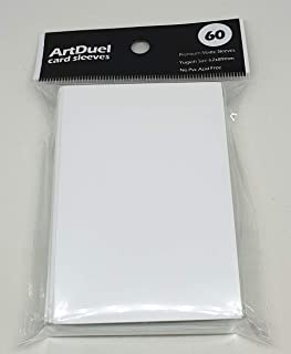 Yugioh Card Sleeves - Matte White - 60ct