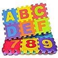 Little Star Kids 36 Pieces Alphabet Floor mats for Kids,…