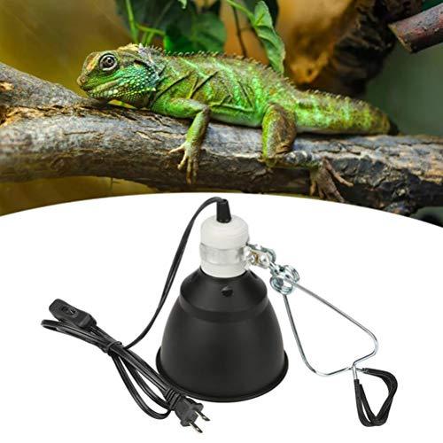 Macabolo 300 Watt keramische warmte UVA/UVB reptiel verwarming lamp staan pet gloeilamp fitting lampenkap Emitter lamp